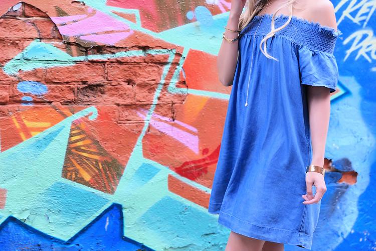 Love Between the Racks - Fashion Blogger - Off-Shoulder dress1203