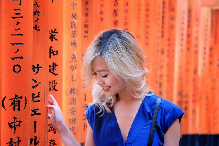 Love Between the Racks - Fashion Blogger Lina Dinh - Kyoto Japan - Aritzia romper, Mansur Gavriel lady bag, Aquazzura lace flats 3173
