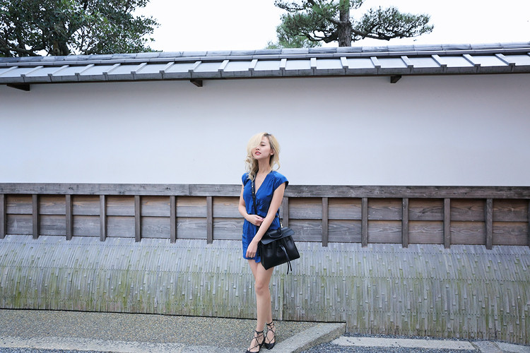 Love Between the Racks - Fashion Blogger Lina Dinh - Kyoto Japan - Aritzia romper, Mansur Gavriel lady bag, Aquazzura lace flats 3117
