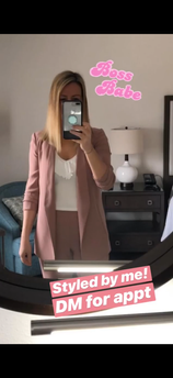 Boss Babe ready to go to the conference