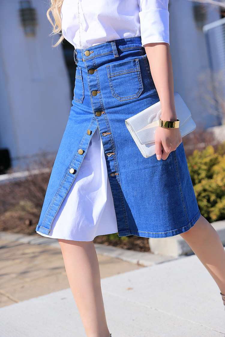 Love Between the Racks - Canadian Fashion Blogger - how to wear a skirt over a shirt dress3448