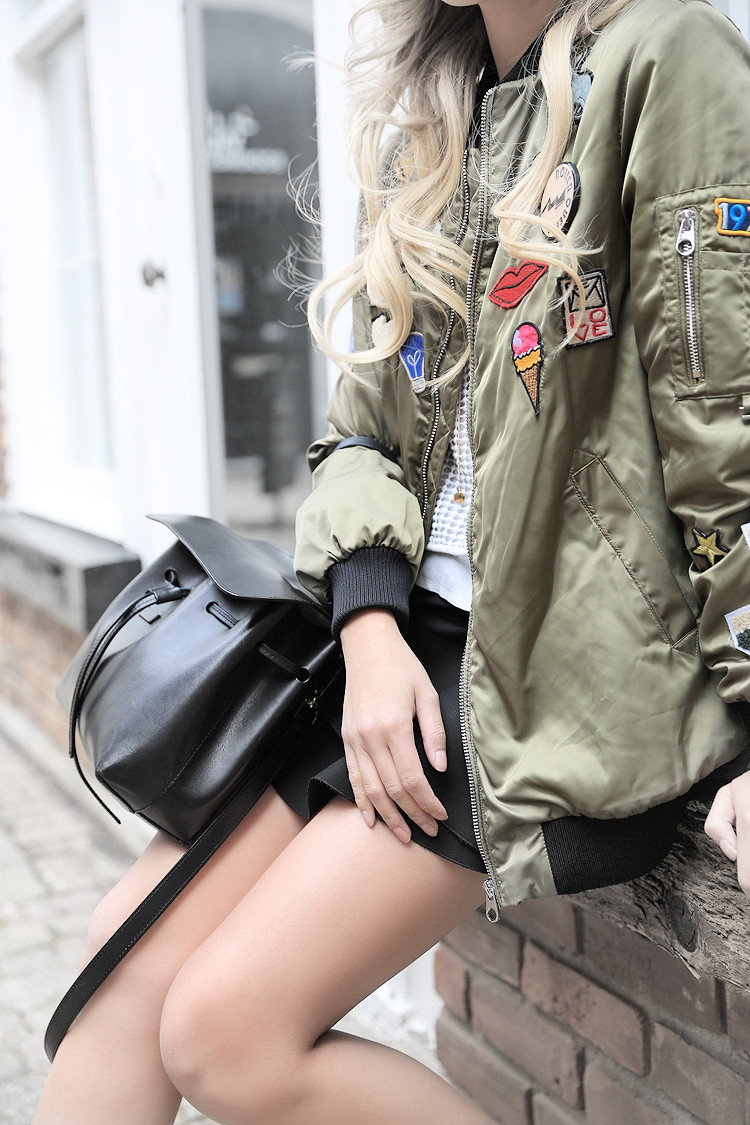 Love Between the Racks - fashion blogger - Zara bomber jacket, Common Projects sneakers3944