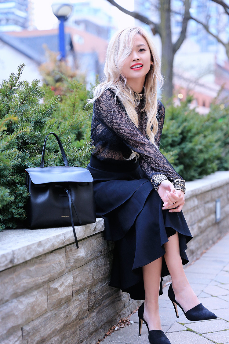Love Between the Racks - Canadian Fashion Blogger - lace top - layered skirt1289