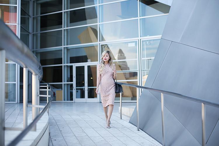Love Between the Racks - fashion blogger - lace dress, Kurt Geiger bond pumps, Mansur Gavriel lady bag_4902