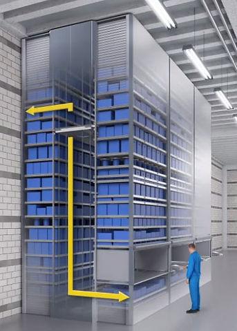 magazzino verticale