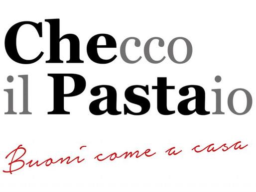 Checco il Pastaio:the new image, the best pasta ever. La nuova immagine, la migliore pasta di sempre