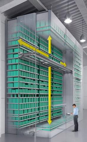 magazzino verticale multispace