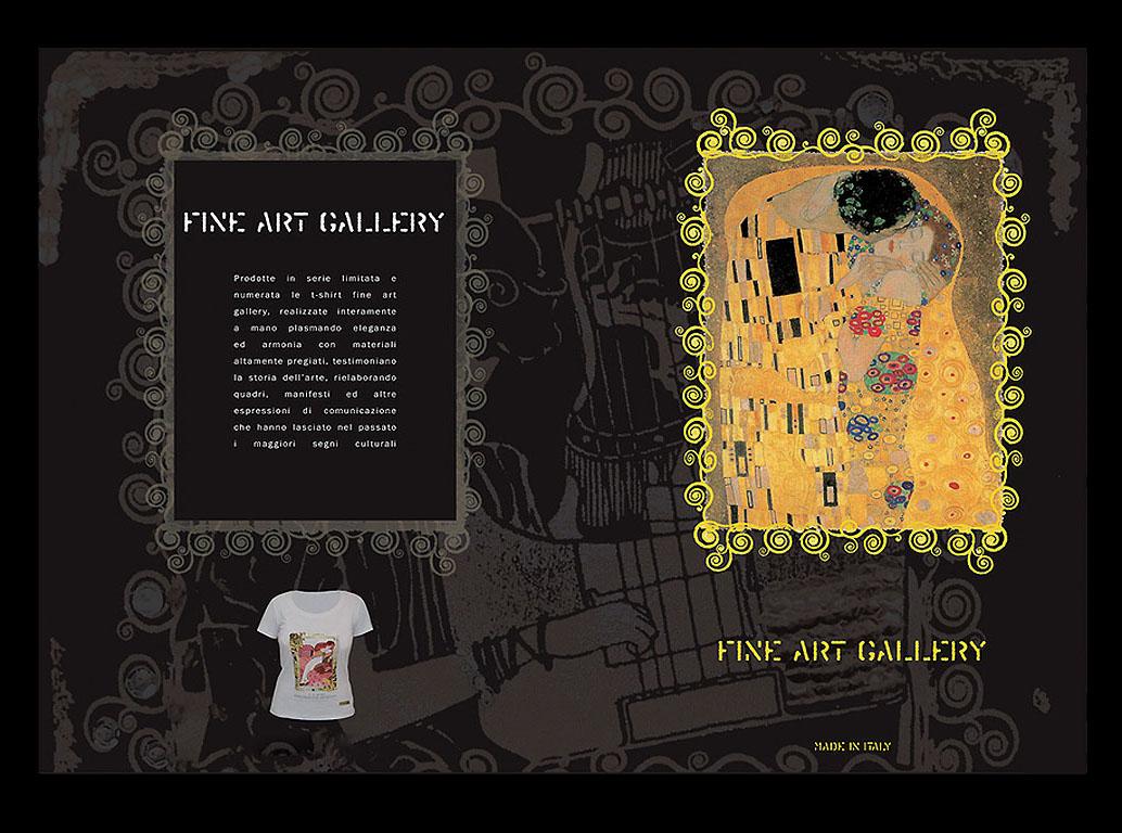 Fine art gallery
