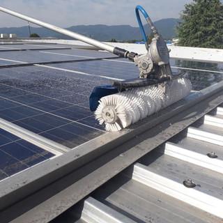 Pulizia impianti fotovoltaici