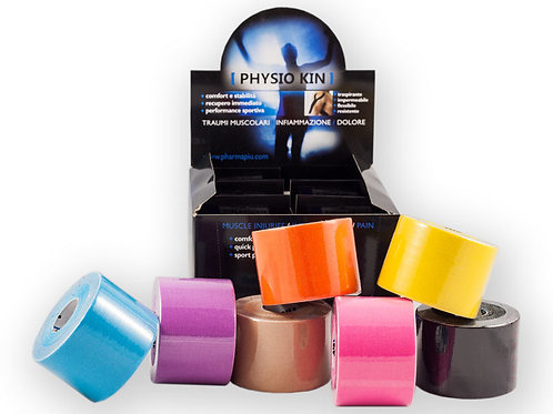 PHYSIO KIN - Nastro Energy Taping da 7,5 cm