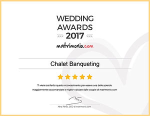 Chalet Banqueting