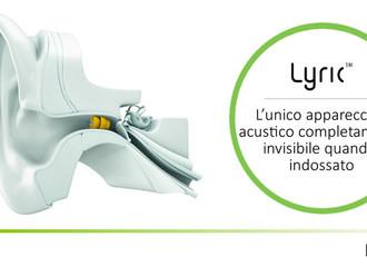 I Nostri Apparecchi Acustici LYRIC sono le uniche protesi acustiche davvero invisibili quando indoss