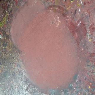 Lavaggio con monospazzola pavimento in cemento