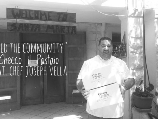 """Feed the Community"" Checco il Pastaio feat. Chef Joseph Vella"