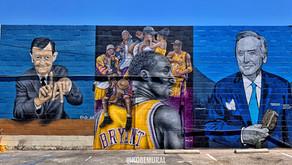Kobe Bryant murals in San Fernando Valley, Los Angeles