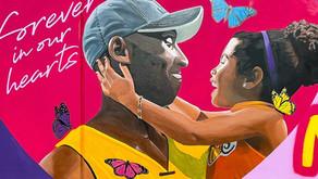 Kobe Bryant murals in Orange County, California