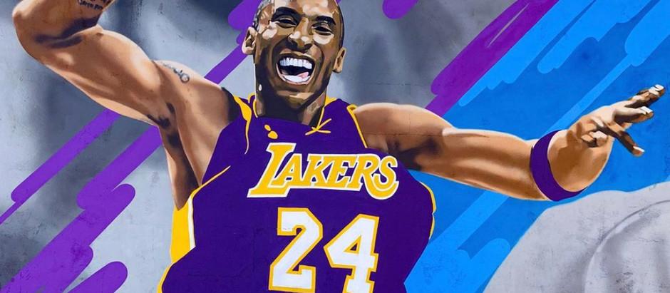 Kobe Bryant murals in San Diego