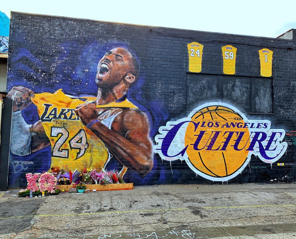 Kobe & Gianna Bryant Murals Locations