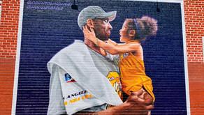 Kobe Bryant murals in Eastern Los Angeles