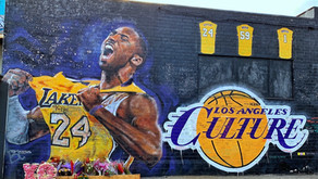 Kobe Bryant murals by Staples Center, Downtown Los Angeles (DTLA)