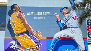 Kobe, Lakers & Dodgers murals in Los Angeles