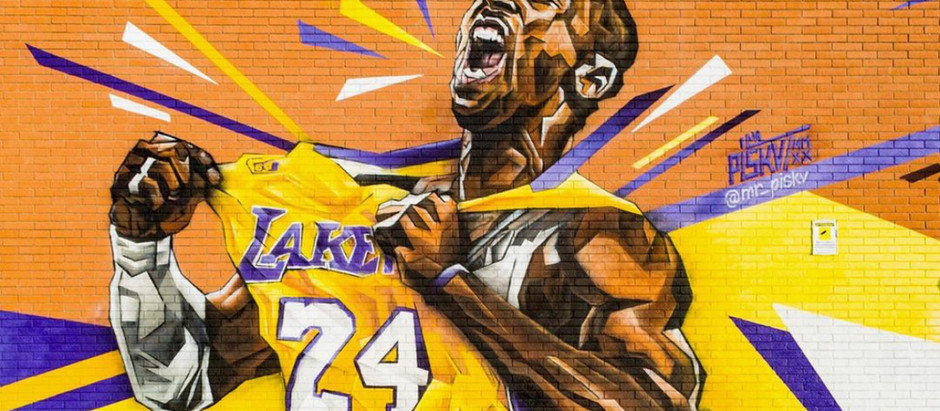 Kobe Bryant murals in Italy, Spain, France, Germany (Europe)
