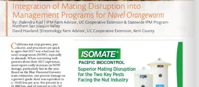 NOW Mating Disruption Article