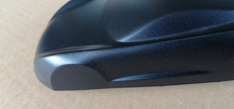 blu opaco metallizzato grana grossa