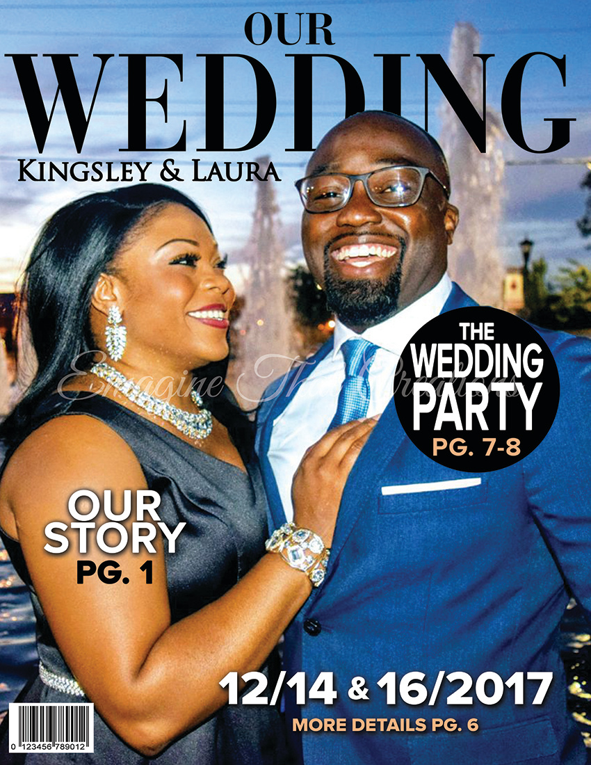 eTC. Wedding Magazine Cover