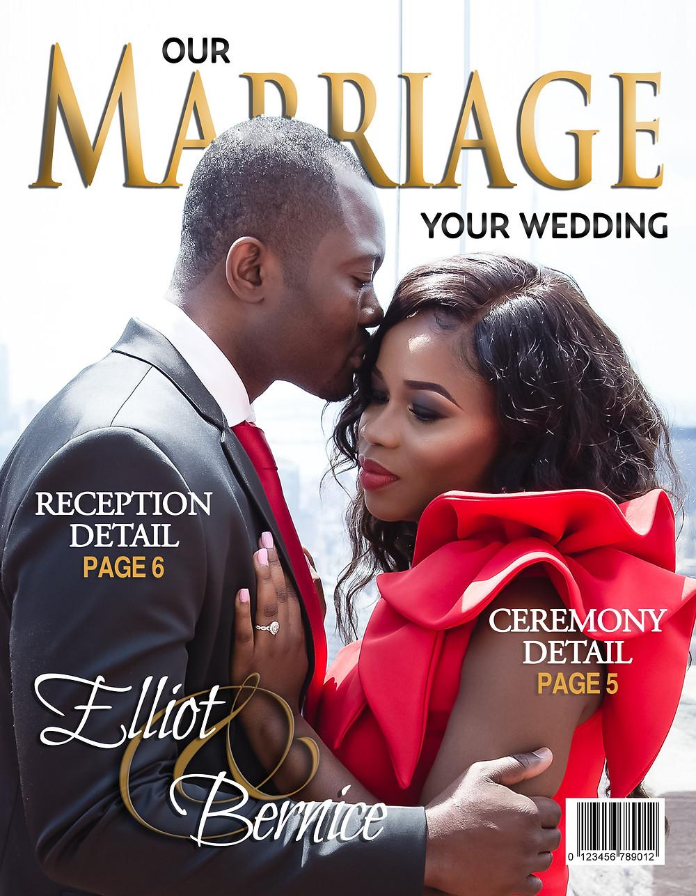 eTC. Couple Wedding Day Program