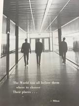 Students in Hallway 1968