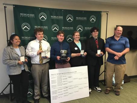 High School Quiz Bowl Class C/D State Champions