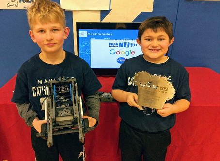 MCC's Robotic Team places 2nd at Kalkaska Competition