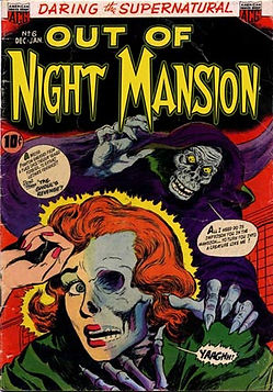 Night Mansion, Louisville Kentucky Halloween prop rentals
