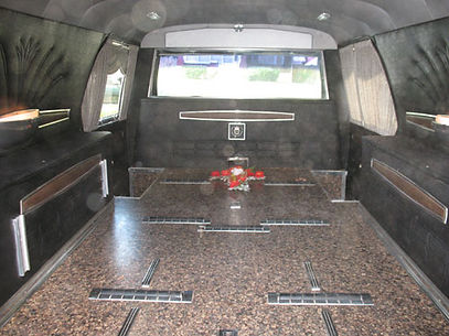 Interior Night Mansion Hearse