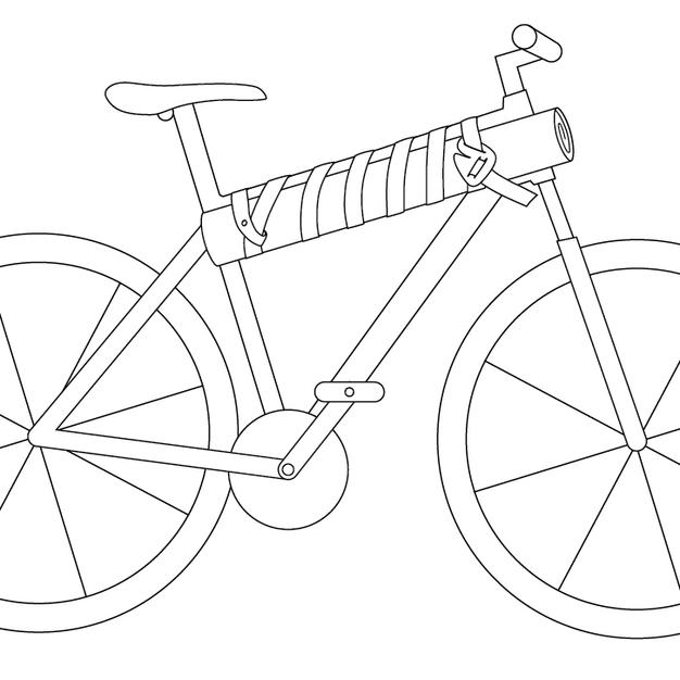 Ready to Roll - full bike sketch