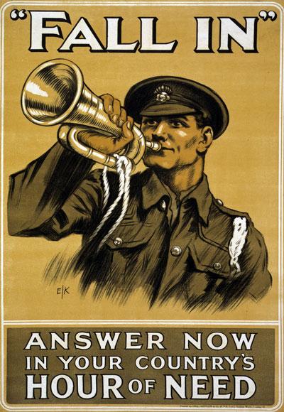 Bugler Poster