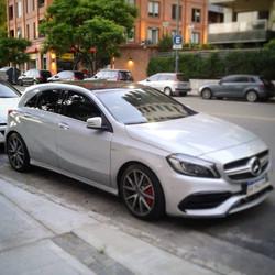 Mercedes Benz AMG A45