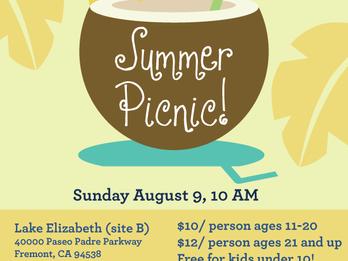 Summer Picnic 2015