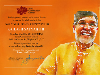 Event to honor Kailash Satyarthi