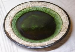 織部リム皿