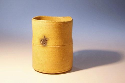 黄瀬戸筒湯呑