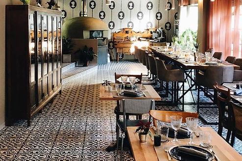 sala pranzo ristorante casa matilda milano