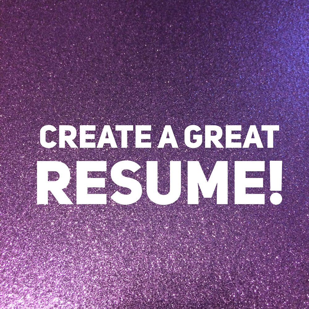 Create a Great Resume with tips from That Purple Book