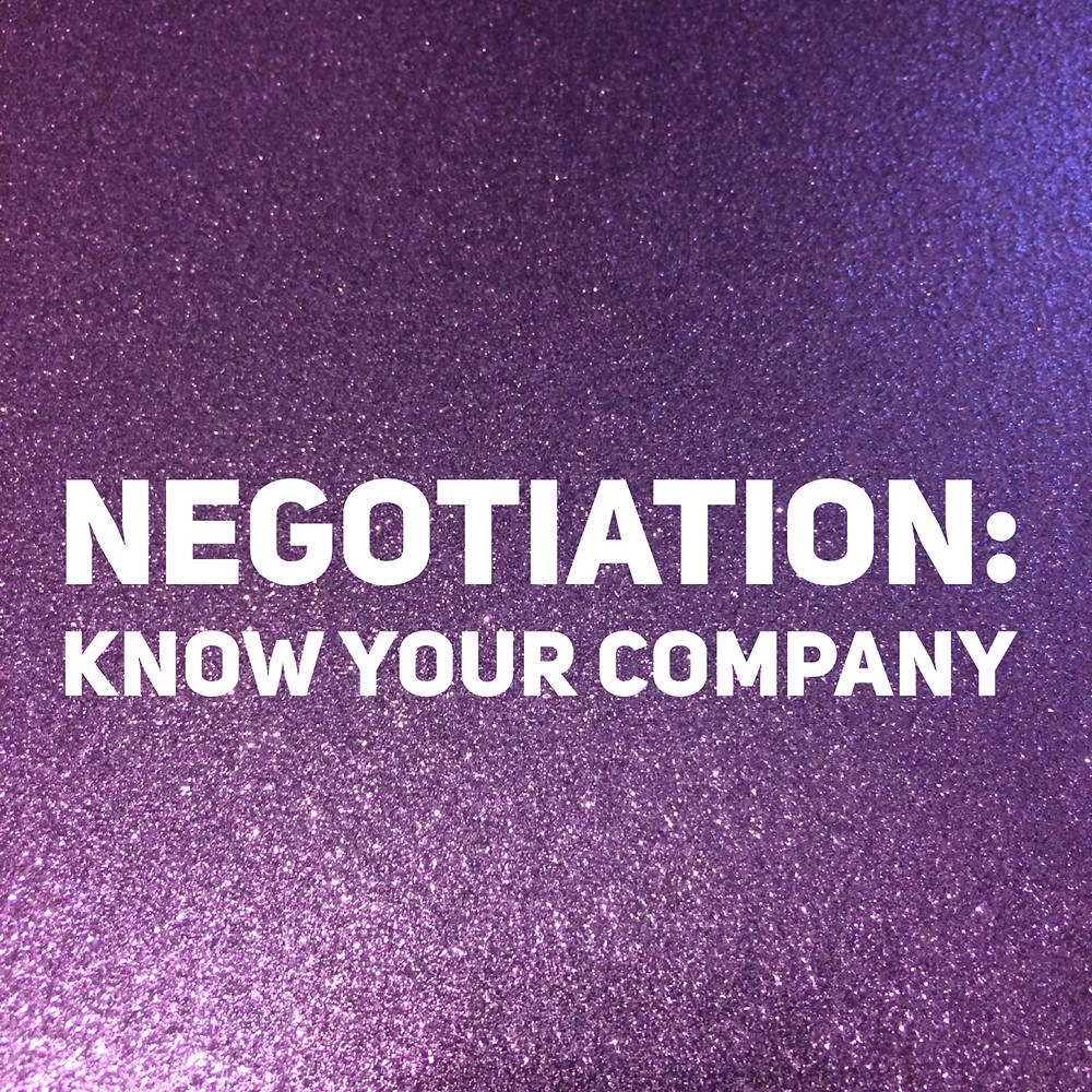 That Purple Book negotiation know your company