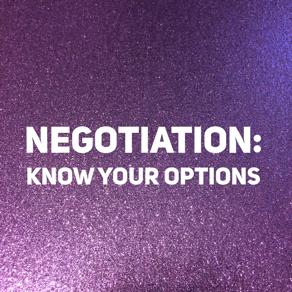 That Purple Book negotiation salary options