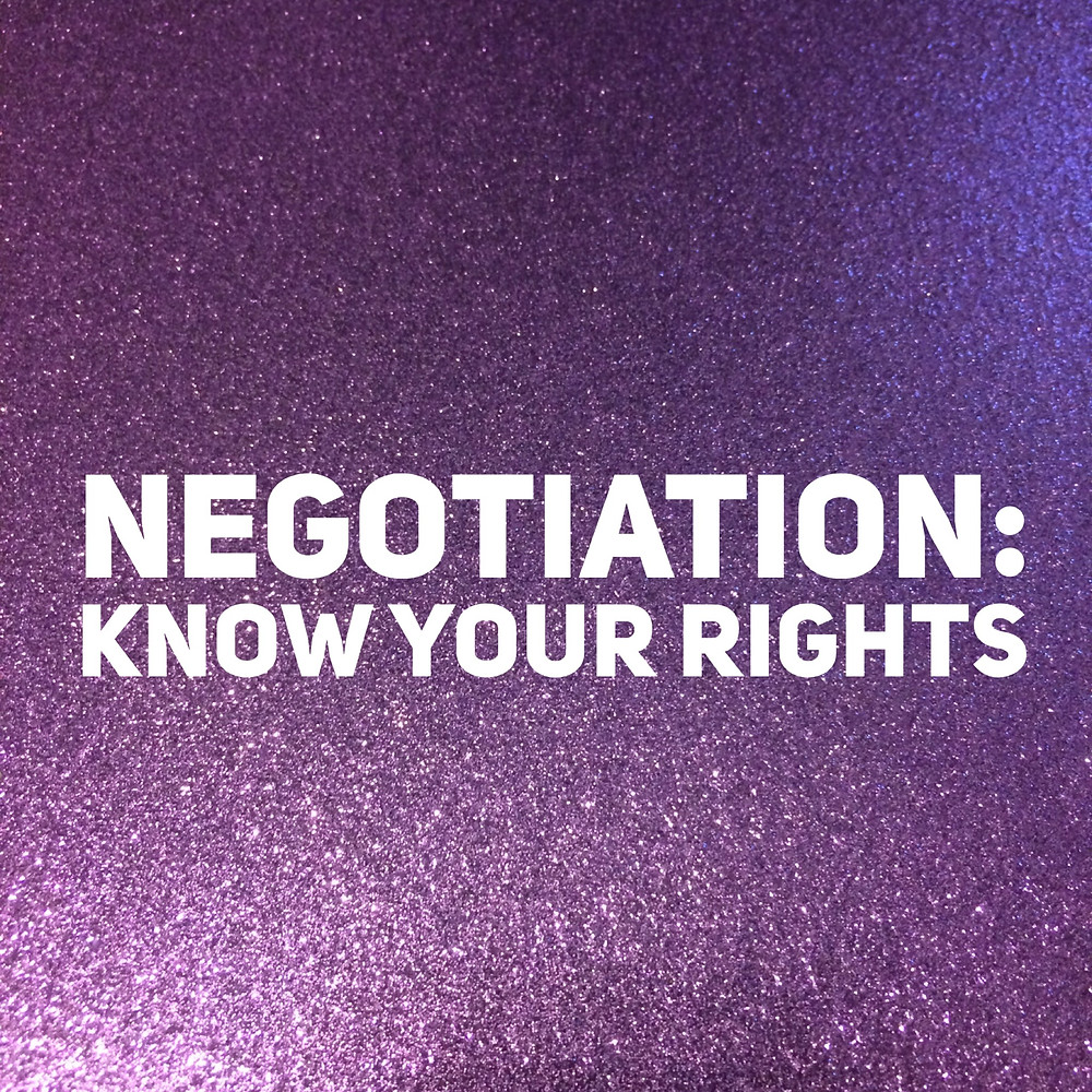 That Purple Book negotiation know your rights