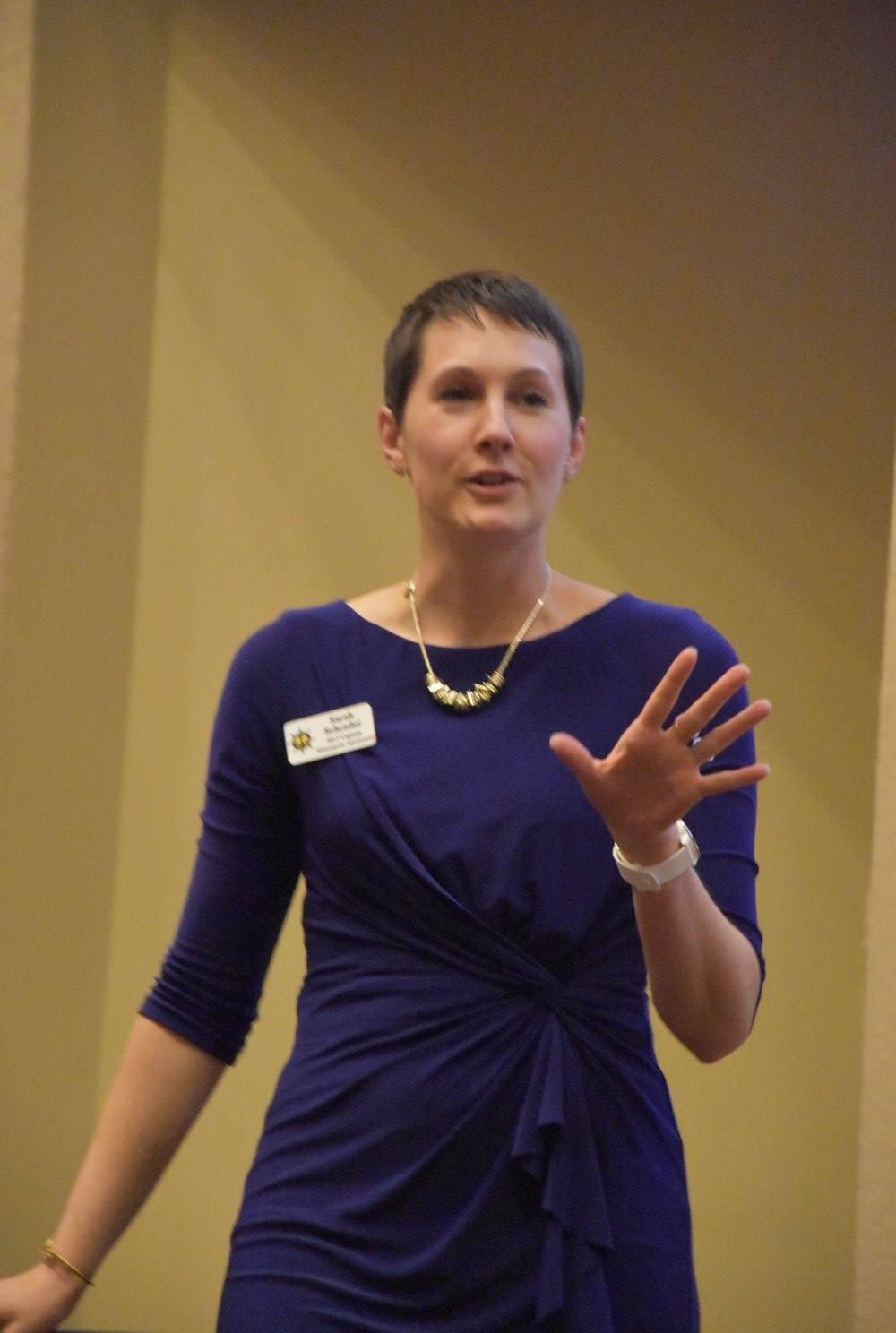 Sarah Schrader public speaker