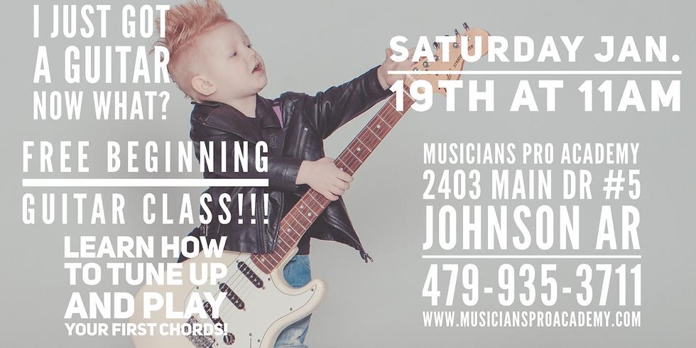 Free Beginning Guitar Class