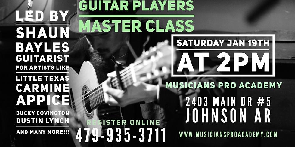 Guitar Master Class